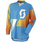 SCOTT JERSEY 350 RACE IT BLUE/YELLOW