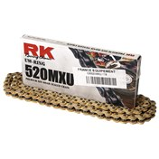 RK Chain 520MXU UW-Ring Size 520 (118), GOLD