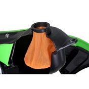 Twin Air Fuel Filter Bags (threaded cap/gängat lock) Orange, KTM SX-F 250/350 13-16, HQV FC 250/350 14-15