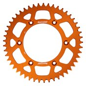 Supersprox BakDrev Alu 50-52 Kugg ORANGE, KTM 125-530 92->, HQV 125-501 14->, HSB 125-570 09-14