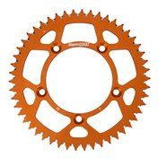 £ Supersprox BakDrev Alu. 48-50 Kugg Orange, KTM SX 65 98->, HQV TC 65 17->
