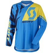 Jersey 350 Race Blue/Yellow,  M