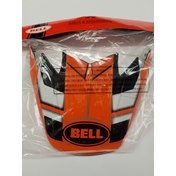 Bell Moto-9 Flex Factory Visor Orange/Black