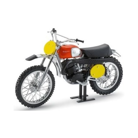 MODEL BIKE HUSQVARNA CROSS 400 1970 B. ABERG REPLICA