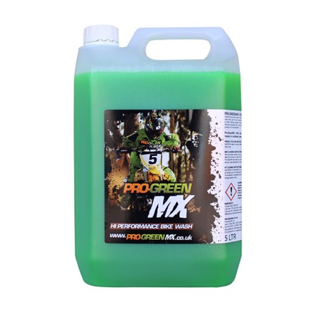 PRO-GREEN MX CONCENTRATED BIKE WASH, 5 Liter