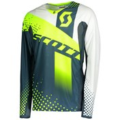 SCOTT JERSEY 450 ANGLED BLUE/YELLOW