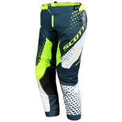 SCOTT PANT 450 ANGLED  BLUE/YELLOW