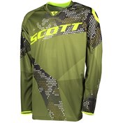 SCOTT JERSEY 350 RACE JUNIOR GREEN/YELLOW