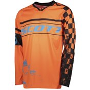 SCOTT JERSEY 350 TRACK JUNIOR ORANGE/BLACK