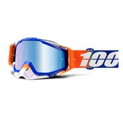 100% Racecraft Roxburry - Mirror Blue Lens