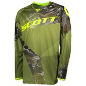 SCOTT JERSEY 350 RACE GREEN/YELLOW