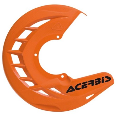 AC FRONT DISC COVER X-BRAKE UNIVERSAL, ORANGE