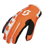 SCOTT GLOVE 350 A2 JUNIOR BLUE/ORANGE, S