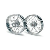 "**Front wheel silver 3,5x17"""" - 20mm"