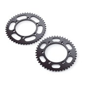 REAR SPROCKET Steel 42-52 Kugg MX/ENDURO, KTM 125-530 92->, HQV 125-501 14->, HSB 125-570 09-14
