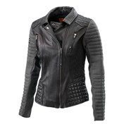 £ GIRLS LEATHER JACKET