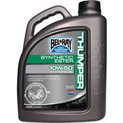 BEL-RAY THUMPER WORKS HELSYNTET 4T 10W/50, 4 Liter