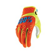 100% Airmatic Glove Orange