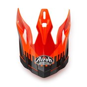 AVIATOR HELMET SHIELD ORANGE 2017