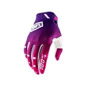 100% Ridefit Glove Pink/Purple