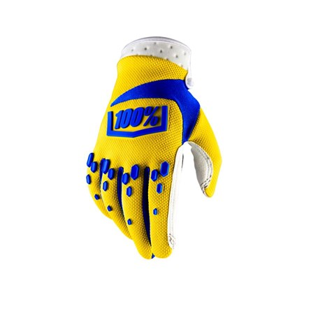 100% Airmatic Glove Yellow