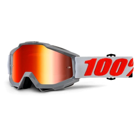 100% Accuri Solberg - Mirror Red Lens