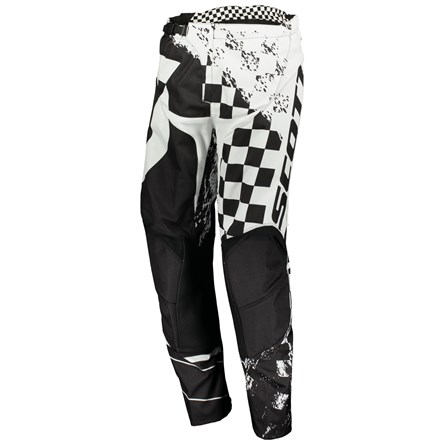 £ SCOTT 350 TRACK PANT BLACK/WHITE