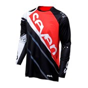 Seven Rival Militant Jersey Red/Black