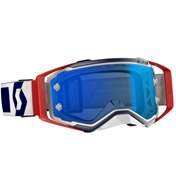 SCOTT Goggle Prospect Red/White/Electric Blue Chrome Works