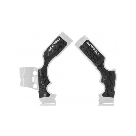ACERBIS FRAME GUARD X-GRIP WHITE, KTM SX 65 16->, HQV TC 65 16->