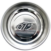 Magnetic Parts Dish, 3 inch Stainless Steel with MP Logo
