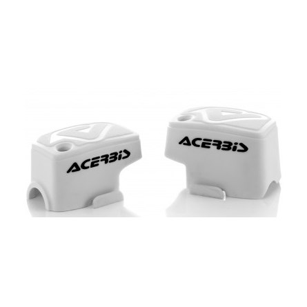 AC BREMBO PUMP COVERS WHITE