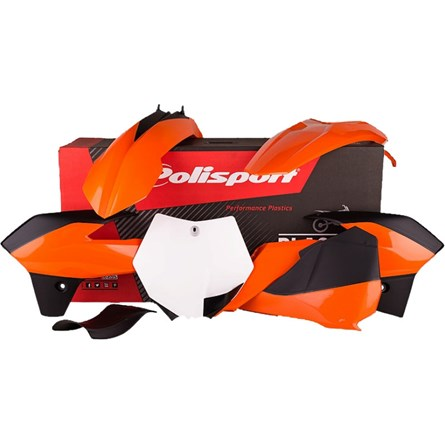 Polisport Plastic Kit Colour 13-16 ink. airbox, KTM SX 85 13-17
