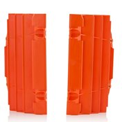 AC Radiator Protection Orange, KTM SX 125/150 16-18, SX 250 17-18, SX-F 16-18, EXC/EXC-F 17-18,  HQV TC 125 16-18 TC 250 17-18, FC 16-18, TE/FE 17-18, TX 125 17-18
