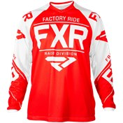 FXR Clutch Retro MX Jersey 18-Red/White