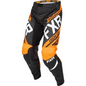 FXR CLUTCH RETRO MX PANT BLACK/ORANGE