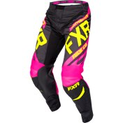FXR CLUTCH RETRO MX PANT BLACK/FUCHSIA
