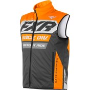 FXR RR INSULATED VEST ORANGE/GREY