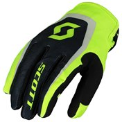 GLOVE 350 DIRT KIDS BLACK/YELLOW