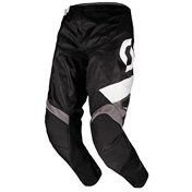 SCOTT PANT 350 TRACK BLACK/WHITE