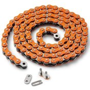 CHAIN ORANGE, SIZE 520