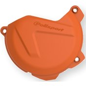 Polisport Clutch Cover Protection Orange,  KTM SX-F 250/350 12-15, EXC-F 250/350 12-16, HQV FC 250/350 14-15 FE 250/350 14-16