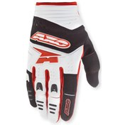 AXO Glove Padlock  White/Black