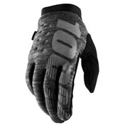 100% Brisker Cold Weather Glove Grey, L