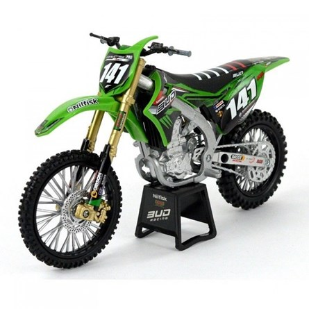 NEW-RAY 1:12 KAWASAKI BUD RACING