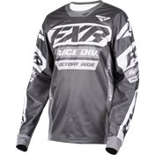 FXR COLD CROSS Jersey Charcoal/Grey, M
