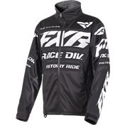 FXR COLD CROSS Jacket Black/White, XXL