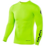Seven Youth Zero Blade Compression Jersey Flo/Yellow