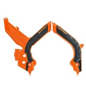 ACERBIS FRAME GUARD X-GRIP ORANGE/BLACK, KTM SX/SX-F 125-450 2019