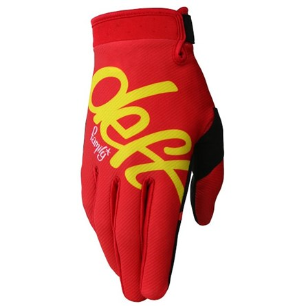 Deft Family Gloves Eqvlnt Solid Red